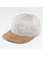 Wrung Division Snapback Cap Block grigio