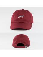 Wrung Division Snapback Cap Base Baseball rosso