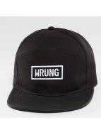 Wrung Division Box Snapback Cap Black