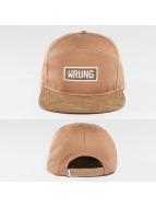 Wrung Division Snapback Caps Box bezowy