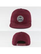 Wrung Division Snapback Caps Work punainen