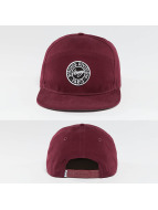 Wrung Division Snapback Caps Work red