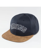 Wrung Division Snapback Block modrá