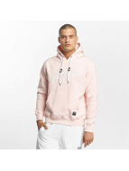 Wrung Division Sweat capuche Signature rose