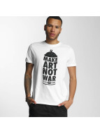 Wrung Division T-Shirt Manwpainted weiß