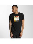Wrung Division t-shirt Texture zwart