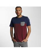 Wrung Division T-shirts Pocket rød