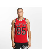 Wrung Division Tank Tops Teamster czerwony