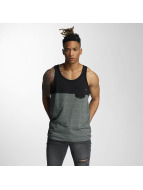 Wrung Division Tank Tops Yezz grey