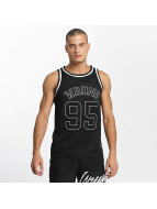 Wrung Division Tank Tops Teamster schwarz