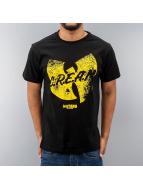 Wu Tang Brand Футболка Logo Distress черный