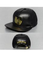 Wu Tang Brand Snapback Caps Metal musta