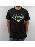 Wu Tang Brand T-paidat Cream Tat musta