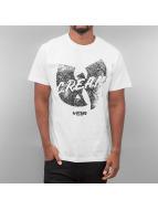Wu Tang Brand T-paidat Logo Distress valkoinen