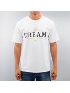 Wu Tang Brand T-Shirt Cream Champagne blanc