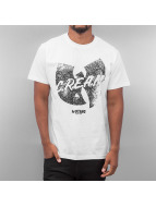 Wu Tang Brand T-Shirt Logo Distress blanc