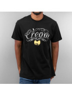 Wu Tang Brand T-Shirt Cream Tat schwarz