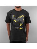 Wu Tang Brand T-Shirt WTB Camo schwarz