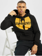 Wu-Tang Hoodies Logo čern