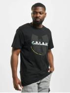 Wu-Tang T-Shirty C.R.E.A.M. czarny