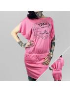 Yakuza Šaty Born As A Slave pink