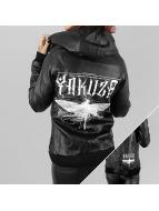 Yakuza Кожаная куртка Dragon Fly черный