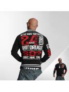 Yakuza Университетская куртка Know Your Dealer черный
