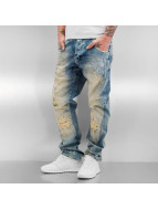 Yakuza Antifit jeans Skeleton Anti Fit blå