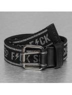 Yakuza Belts Fxck Society svart