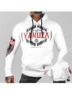 Yakuza Bluzy z kapturem Brute Devil bialy