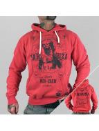 Yakuza Bluzy z kapturem Mex-Crew czerwony