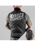Yakuza Bodywarmer Daily Use Quilted zwart