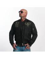 Yakuza Bomber jacket Sxck And Fxck black