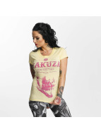Yakuza Daily Skull T-Shirt Pale Banana
