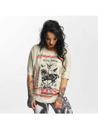 Yakuza Circus Inferno T-Shirt Bone White