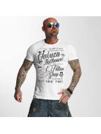 Yakuza Camiseta Jailhouse blanco