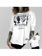 Yakuza Camiseta de manga larga Out Of Control blanco