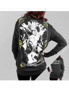 Yakuza Camiseta de manga larga An Angels Wide Crew negro