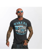 Yakuza Camiseta Dangerous Place gris