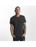 Yakuza Basic Line Crew Neck T-Shirt Dark Grey Melange