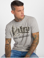 Yakuza One Shot T-Shirt Light Grey Melange