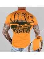 Yakuza Camiseta polo OK! naranja