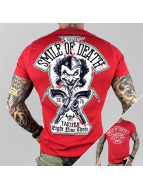 Yakuza Camiseta Smile of Death rojo