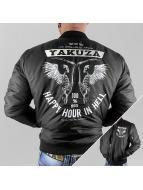 Yakuza Cazadora bomber Happy Hour negro