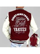 Yakuza Chaqueta de béisbol Summer of Death rojo
