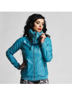 Yakuza One Love Faux Leather Jacket Turquoise