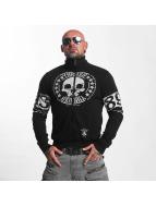 Yakuza Chaqueta de entretiempo Skull Label negro