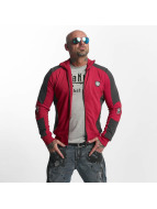 Yakuza Punx Two Face Zipper Jacket Ribbon Red
