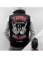 Yakuza Chaqueta de invierno Hell Rider negro