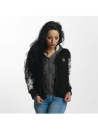 Yakuza Skull Teddy Jacket Black